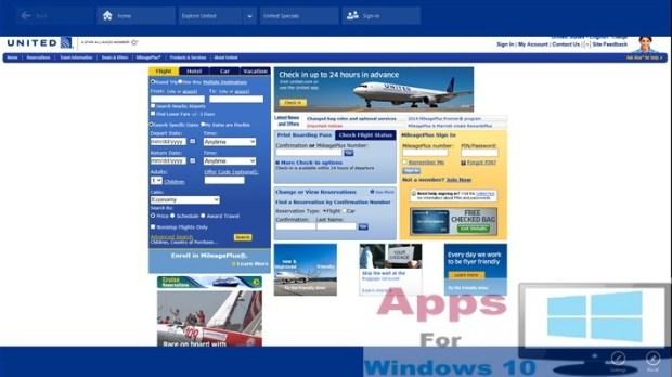 United Air App