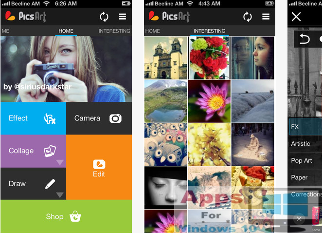 PicsArt Photo Studio for PC Windows 10 & Mac | Apps For