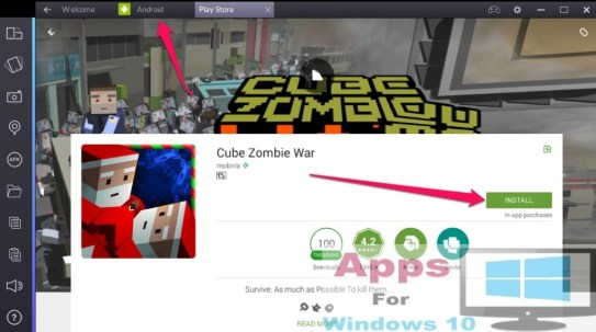 Cube_Zombie_War_for_Windows_10_PC