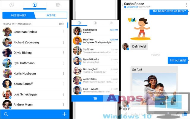 Facebook Messenger for PC Windows 10 & Mac | Apps For Windows 10