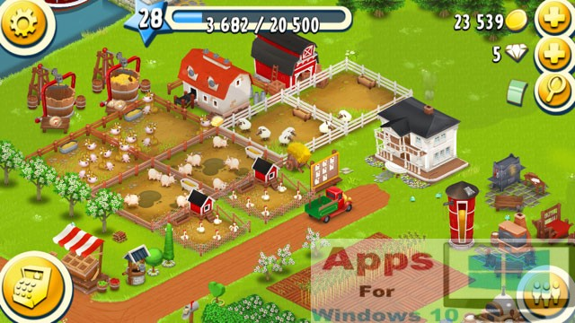 game hayday cho windows phone