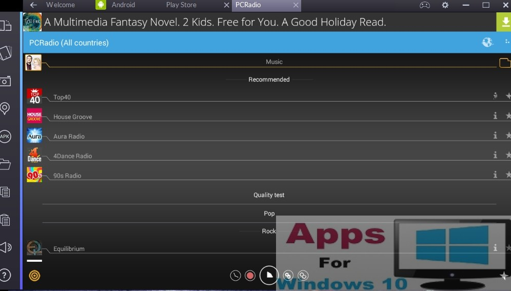 Pc Radio App