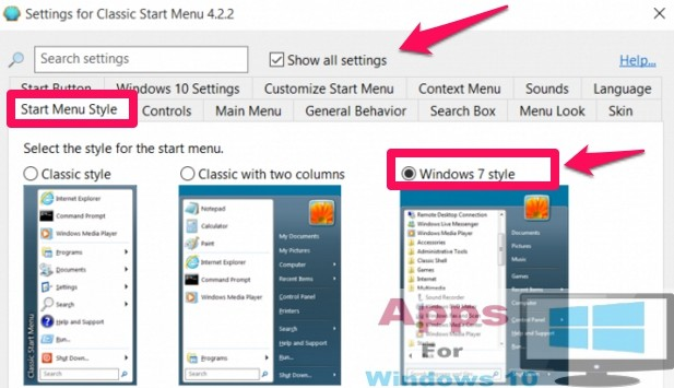 How to Turn Windows 10 into Windows 7 in Appearance | Apps