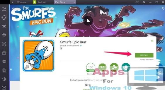 Smurfs_Epic_Run_for_Windows10_PC