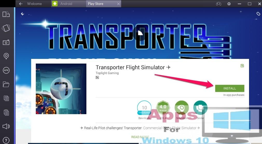 Transporter Flight Simulator for PC (Windows & Mac) | Apps