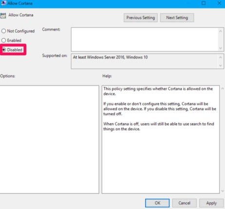Disable_Cortana_Windows_10_Pro_Enterprise