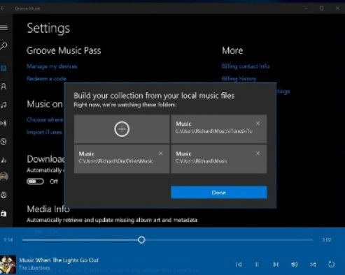 Import_iTunes_Library_to_Groove_on_Windows_10