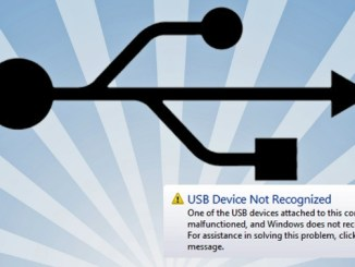 fix usb device not recognized in windows