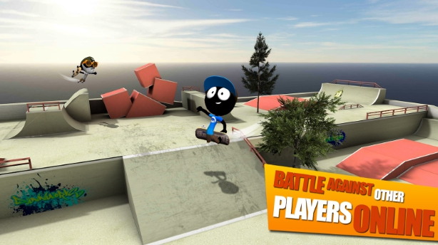 stickman skate battle for pc free download