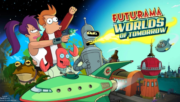 futurama worlds of tomorrow for pc download