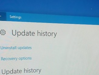 how to see windows 10 update history using settings and command prompt