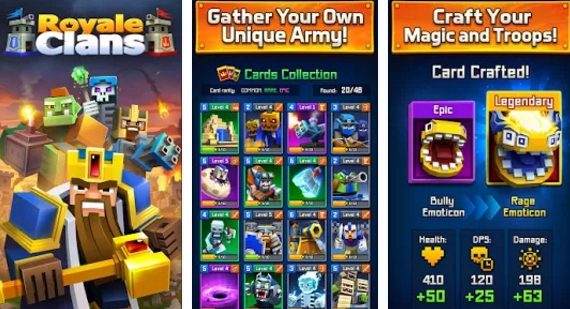 royale clans for windows pc download