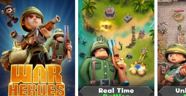 war heroes fun action for free download on pc