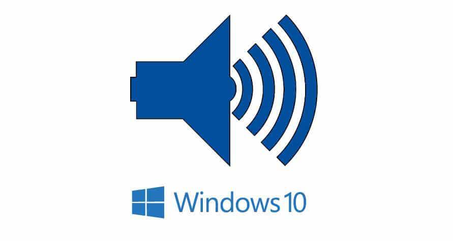 lost sound on pc windows 10
