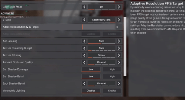 Apex Legends Minimum PC Requirements for Windows 10