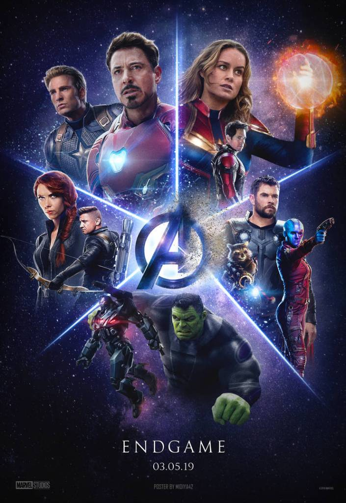 Avengers Endgame Wallpapers Full HD 4K Poster and Title