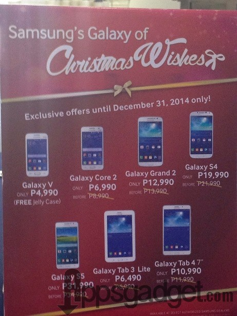 Samsung's Galaxy of Christmas Wishes