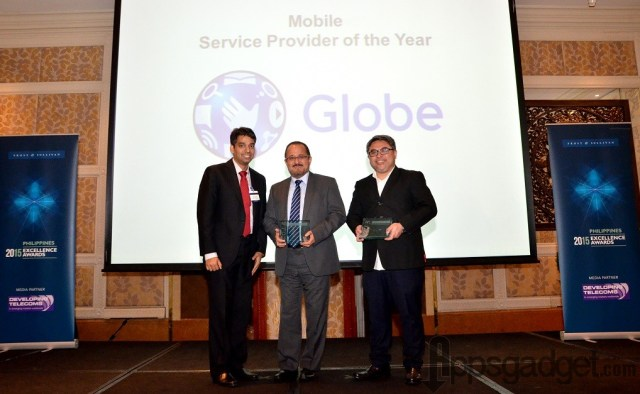 Globe Telecom  Telecom Service Provider of the Year and Mobile Service Provider
