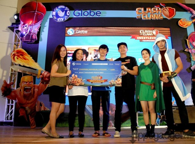 Champion category winner Earl Benedict Zuniga (CoC Name: erby)