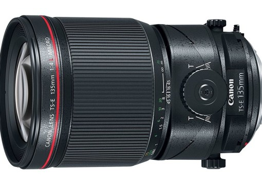 Canon TS-E 135mm f/4L MACRO L-series Tilt-and-Shift Lens