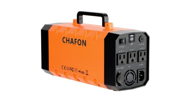 Chafon Portable Power Supply for Camping or Emergency Review