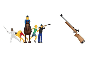 Two Gun Related Emoji