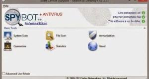 Spybot – Search & Destroy للتخلص من ملفات التجسس و التروجنات