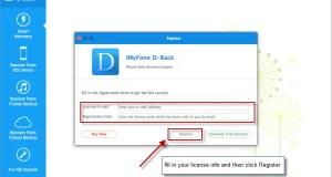 تحميل برنامج iMyFone D-Back
