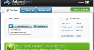 تحميل برنامج Malwarebytes Secure Backup