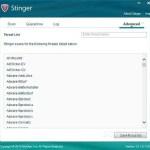 تحميل برنامج McAfee Stinger للحماية من الڤيروسات
