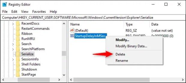 كيفية تسريع Windows 10 والغاء التأخير في فتح البرامج عند بدأ التشغيل