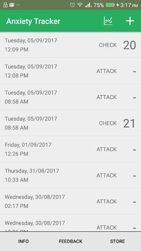 Anxiety Tracker screenshot 1