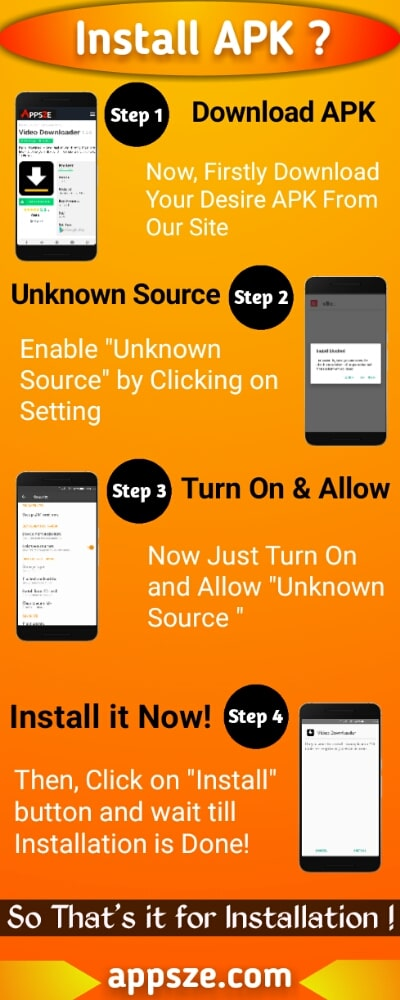 How to Install APK Infographic