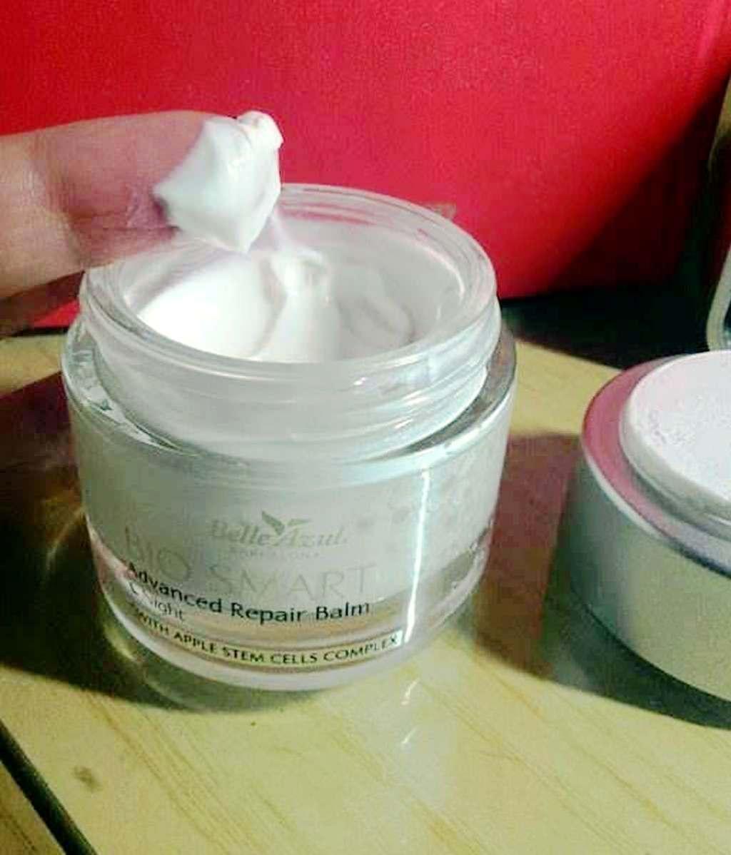 Bio Smart Balm Night di Belle Azul, crema antirughe per pelle secca