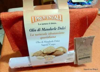 I Provenzali: la trousse mandorle dolci per eco regalo natalizio