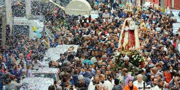 Pagani: processione madonna delle Galline 2019