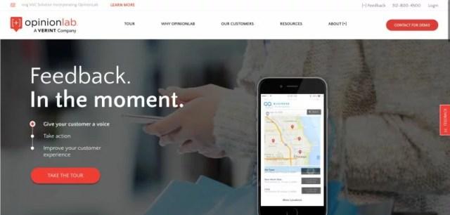 customer feedback site