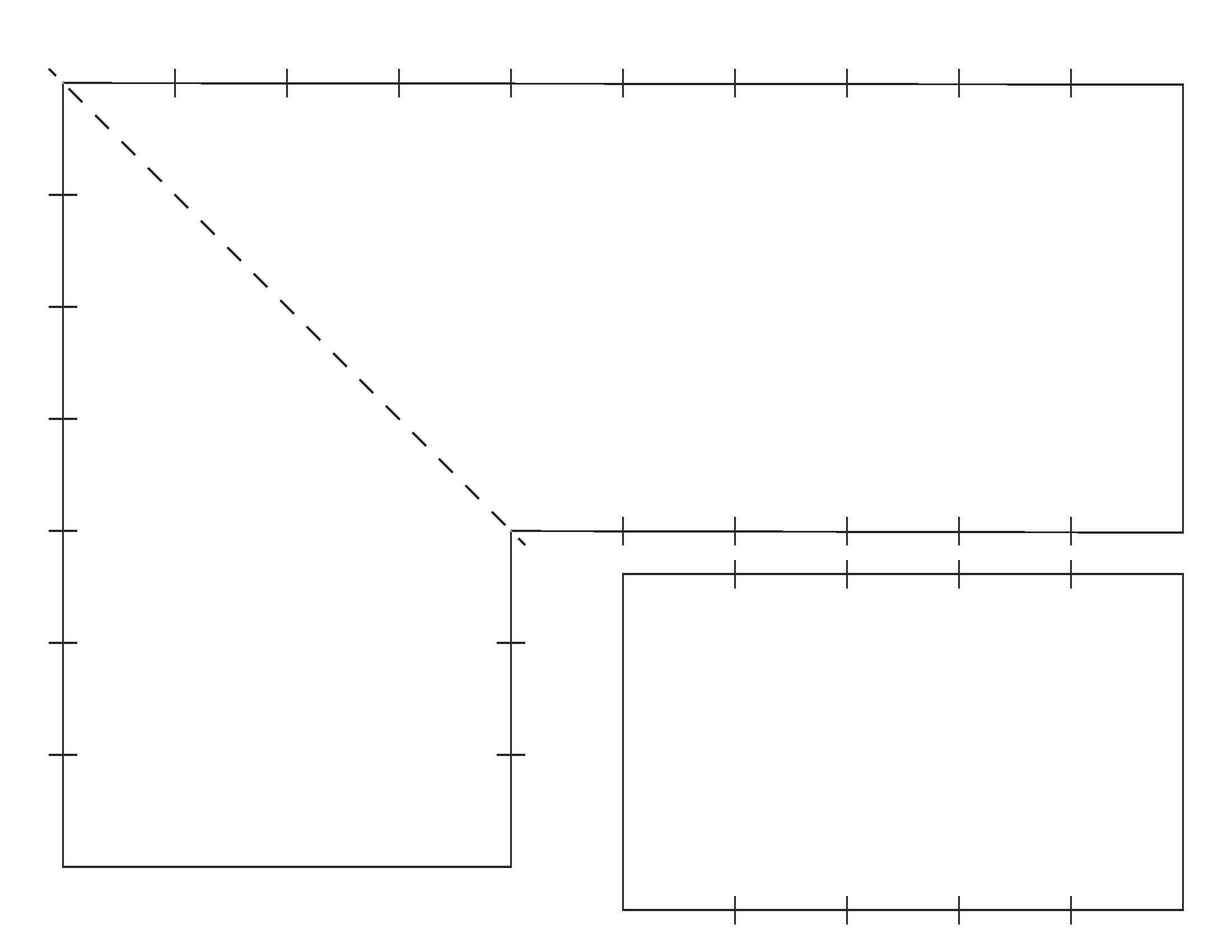 Garden Trellis Border Designs With Rulers