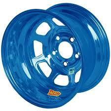 Aero vanne kromi sininen