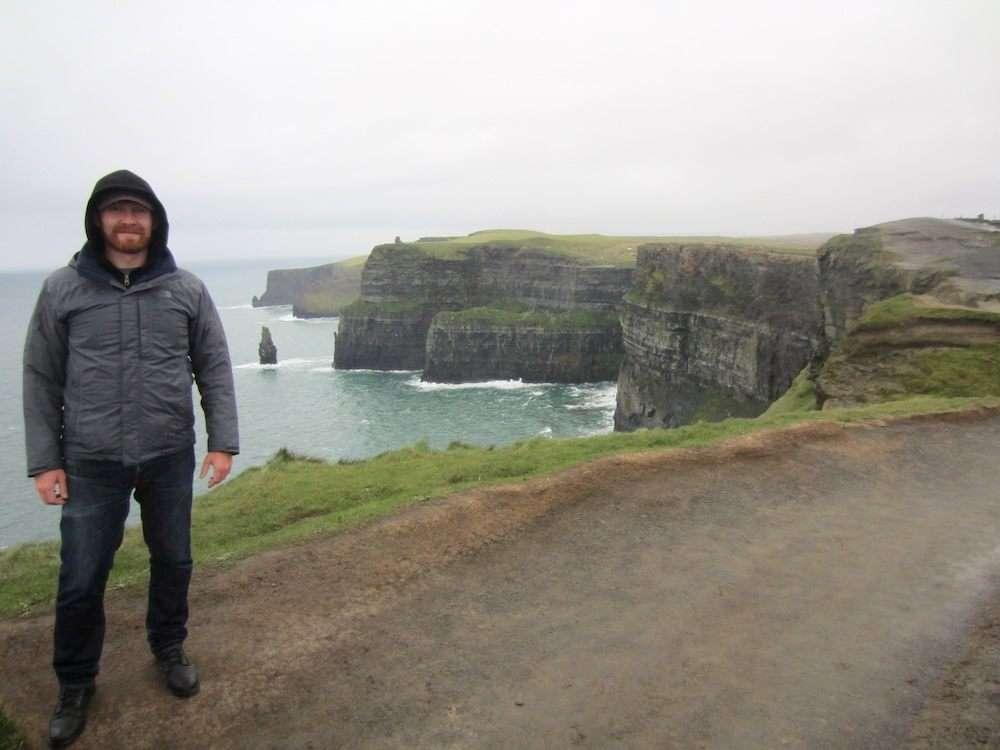 daniel welsch at cliffs of moher ireland