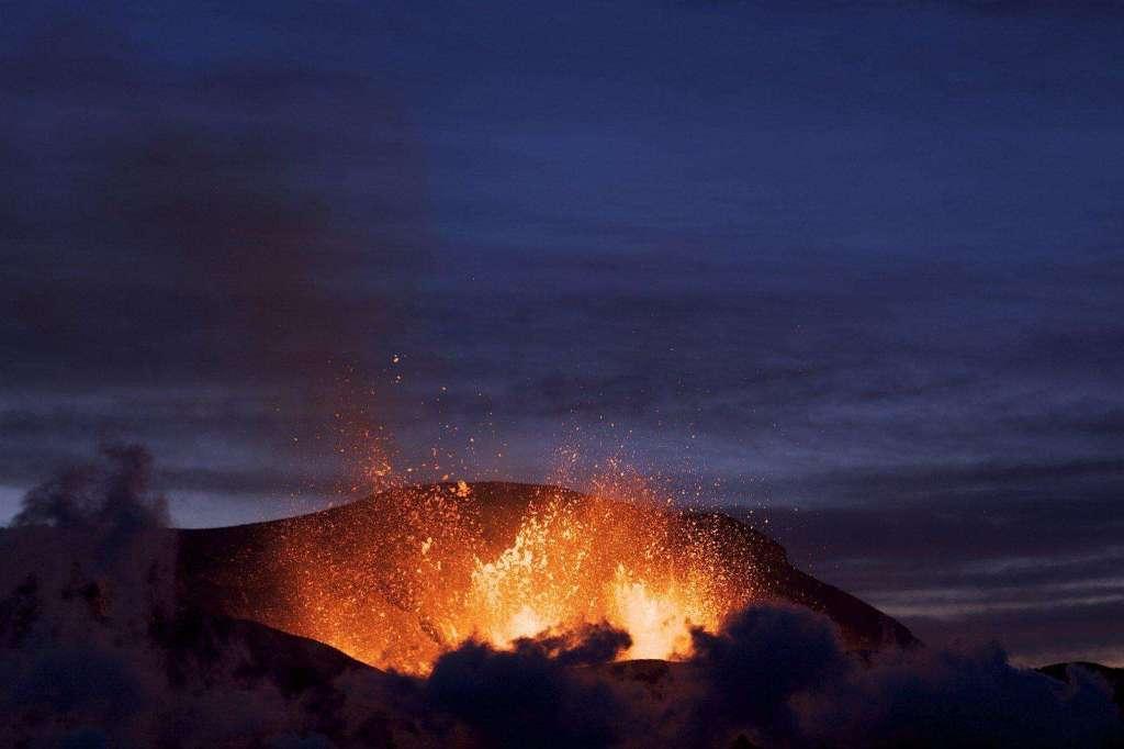 listening en inglés con el volcán de la palma