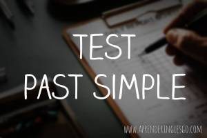 test past simple