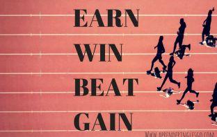 EAR, WIN, BEAT y GAIN