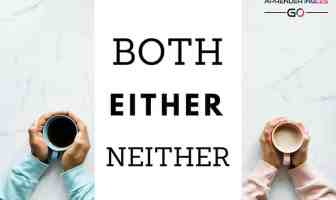 Diferencia entre BOTH, EITHER y NEITHER en inglés