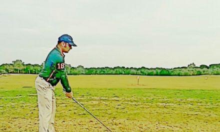 Retomando los entrenamientos de golf