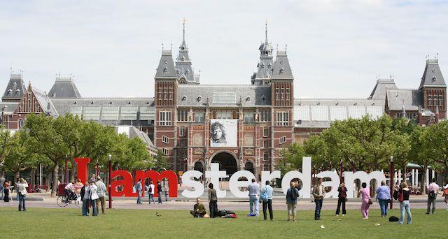 i-amsterdam-museumplein y alrededores con niños gratis