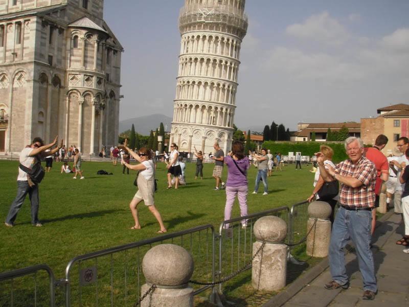 torre pisa toscana ruta