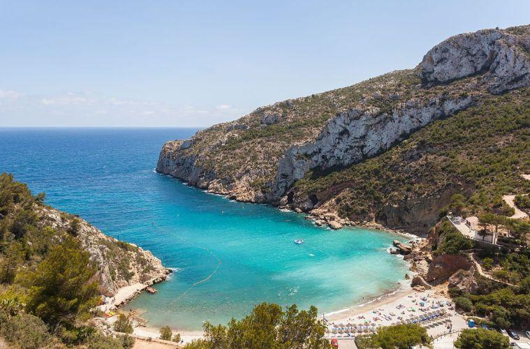 mejores playas alicante costa blanca granadella