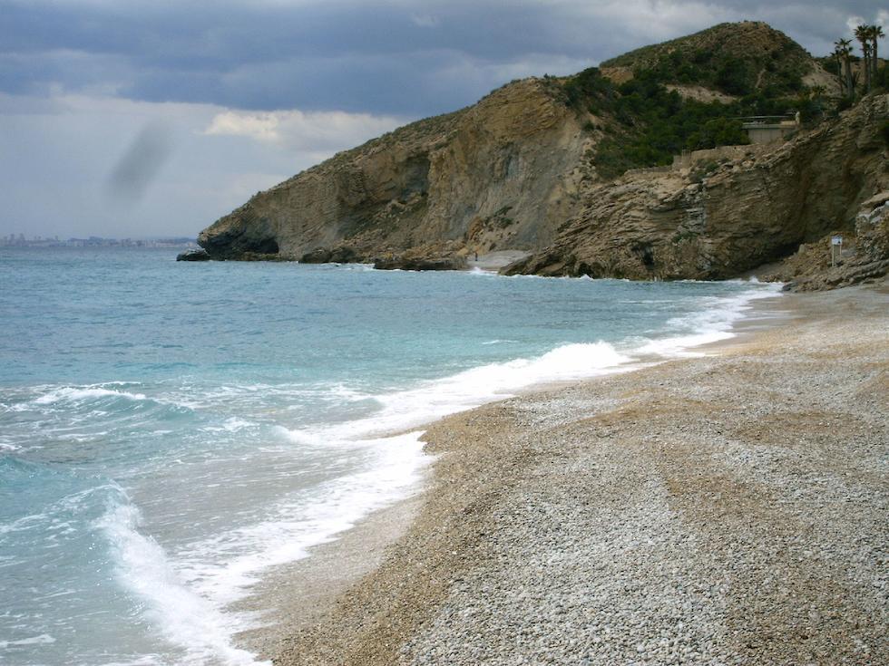 playas alicante villajoyosa