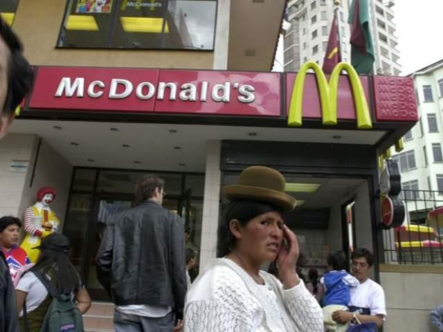 mcdonalds bolivia ventura mall